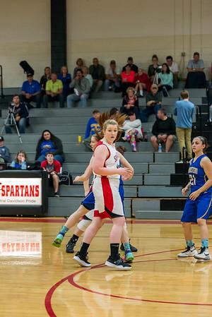 Megan Basketball