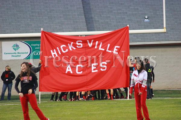 10-18-13 Sports Ayersville @ Hicksville FB