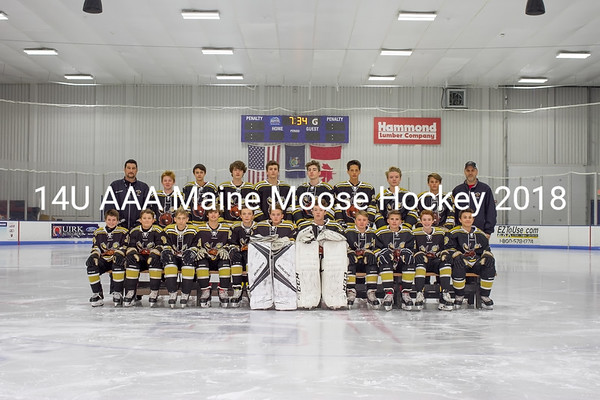 Maine Moose Hockey 14U AAA