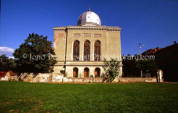 ROMANIA, Oradea. Zion Synagogue. (2004)