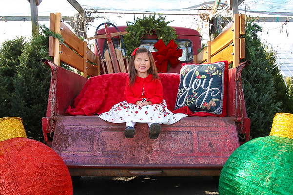 Red Truck Magnolia Gardens