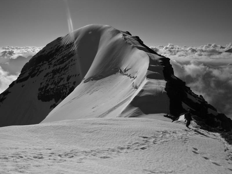 Summit Ridge Mount Athabasca
