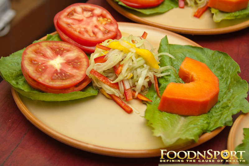 A Happy Matchstick Salad
