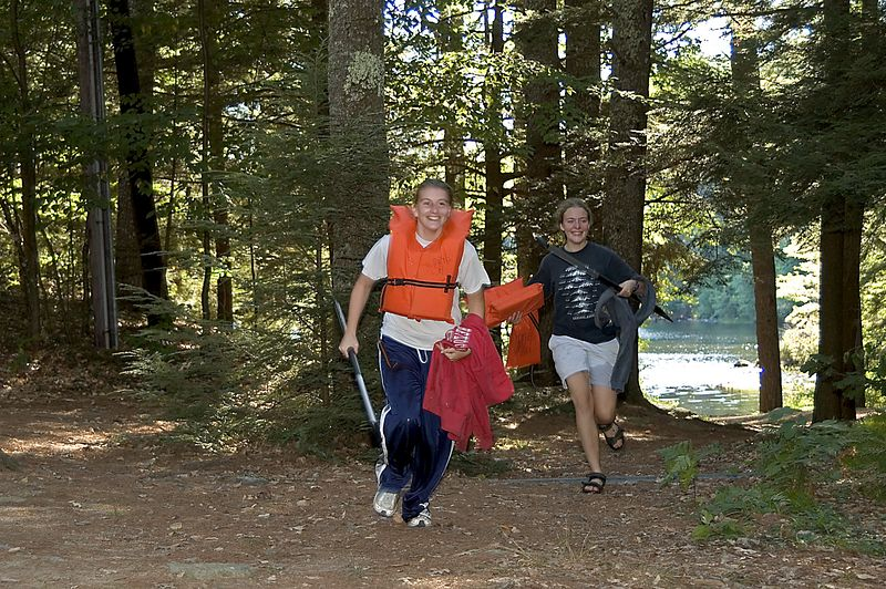 The team of Dunlavey and Burdick race to finish   (Sep 10, 2005, 04:27pm)