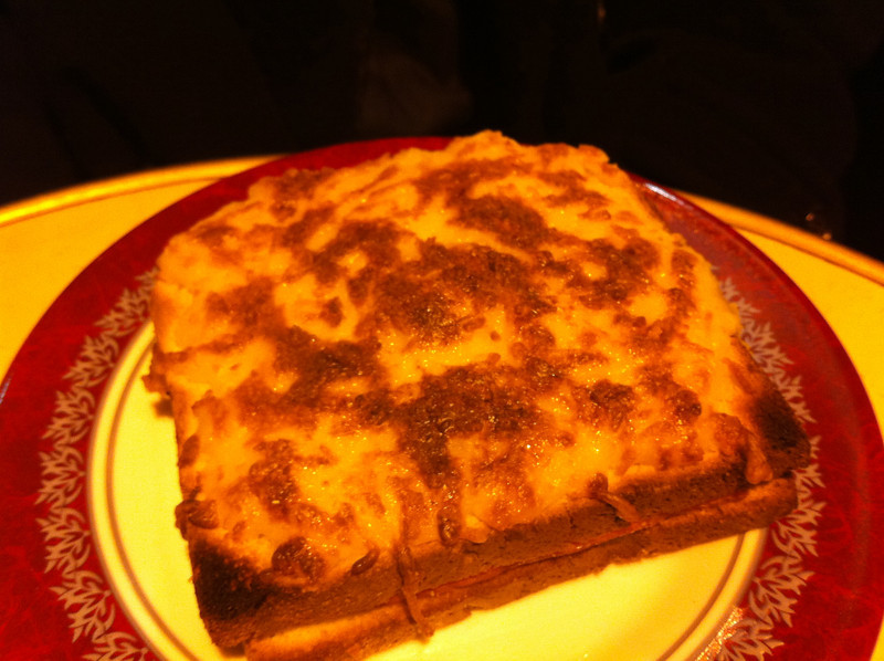Our 1st Parisian meal was just ok *croque monsieur at Cafe Dejazet