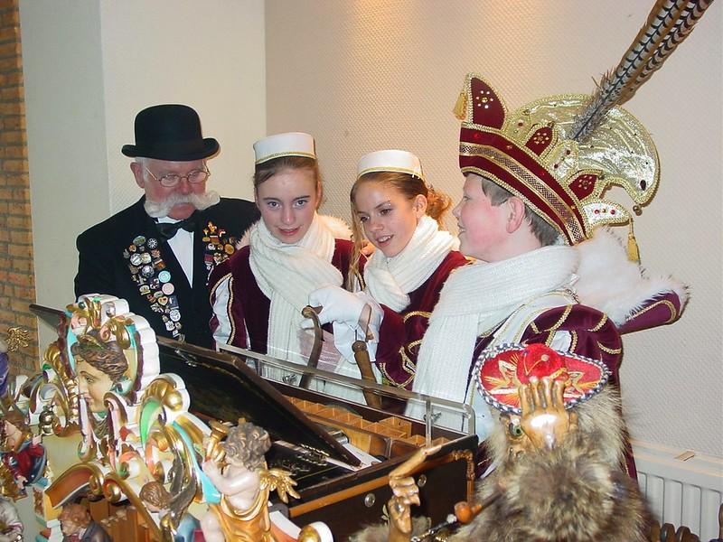 Jeugdkabinet op bezoek bij orgelman Henk Orth