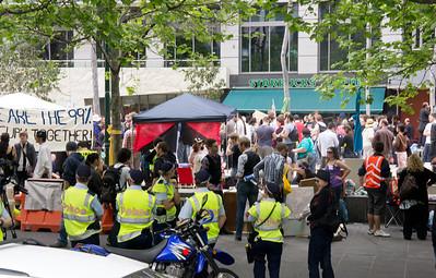 Occupy Melbourne 2011