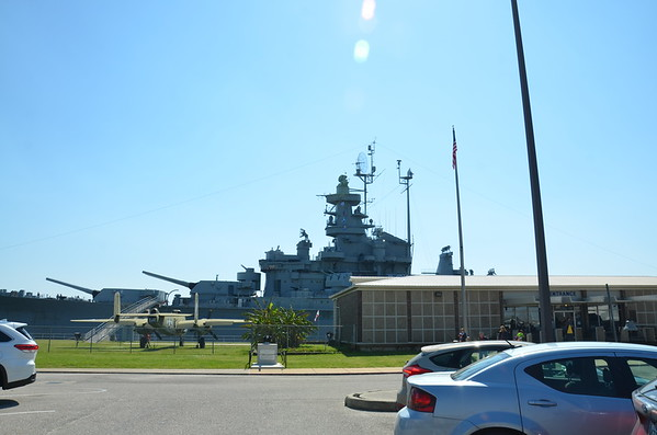 USS Alabama with Alivia Mar 2019