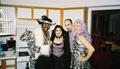 20031101 Team Zebra's Halloween Costume Party