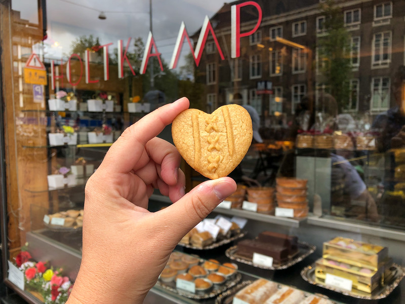 Amsterdam flag cookie