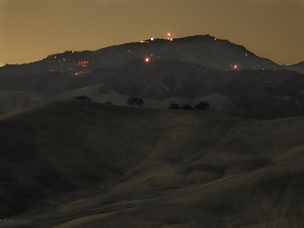 Mt Diablo Burns : Morgan Fire