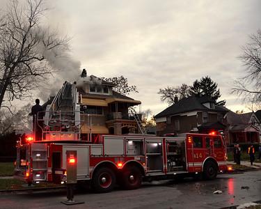Detroit Box Alarm Charlevoix & Bewick   10-26-12