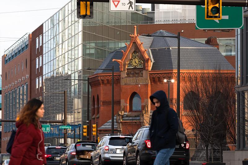 Paul Peck Center, (formerly Centenial National Bank), 3140 Market Street. Photo by Steve Weinik.
