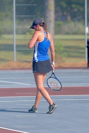 East Bladen vs Pender tennis 2016