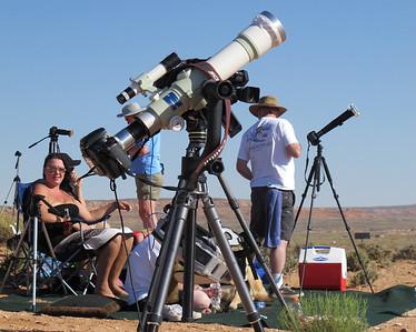 Annular Solar Eclipse Page, AZ