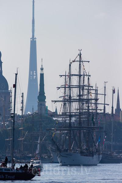 Tall Ships Race 2013, Riga