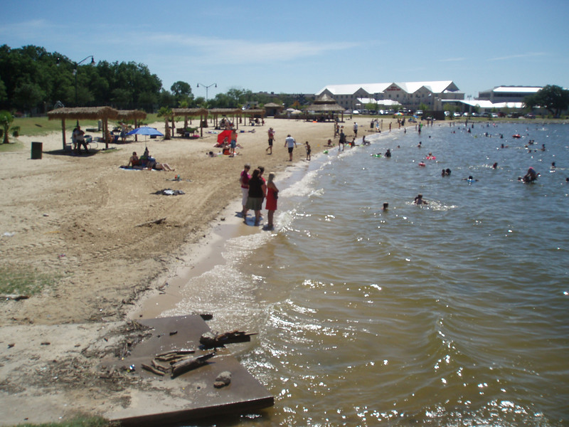 Father's Day Ride 2010: Granbury City Beach