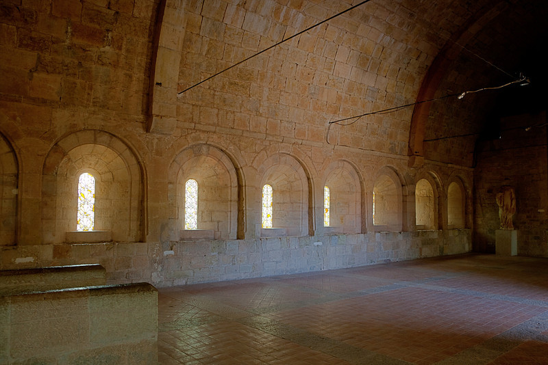 Le Thoronet Abbey Dormitory