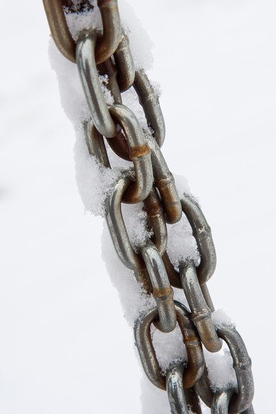 Iced chains