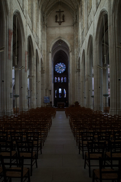 Gisors, Saint-Gervais-Saint-Protais Church Nave and Choir