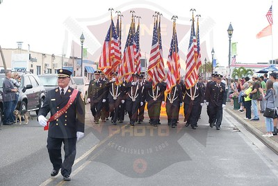 Freeport F.D.  125th Anniversary/ 2nd Battalion Parade 8/11/18