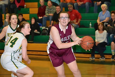 AMHS Varsity Girl Basketball vs West Rutland photos by Gary Baker