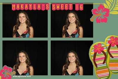 Makayla's Sweet 16