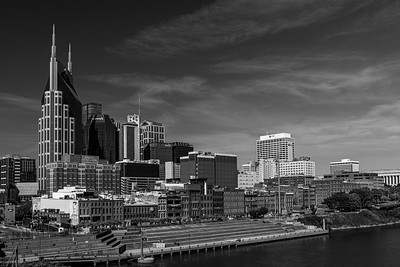 2019-09 B&W Downtown Nashville