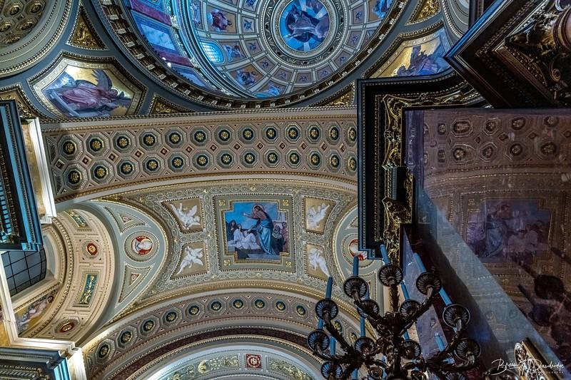 St. Stephen's Basilica (Szent István-bazilika) in Budapest, Hungary