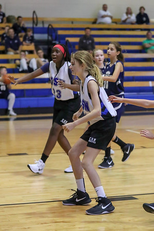 12-4-17: MS Girls Basketball vs SWFL