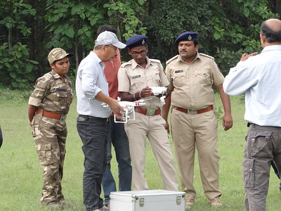 Training on Drones for Maharastra Forest Department