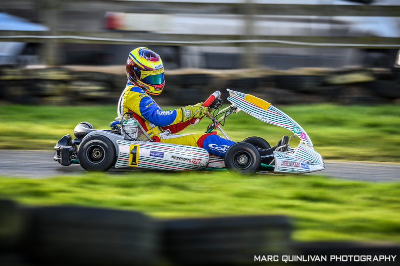 Leinster Karting Club - 2019/20 Winter Championship - Round 2 - Alyx Coby