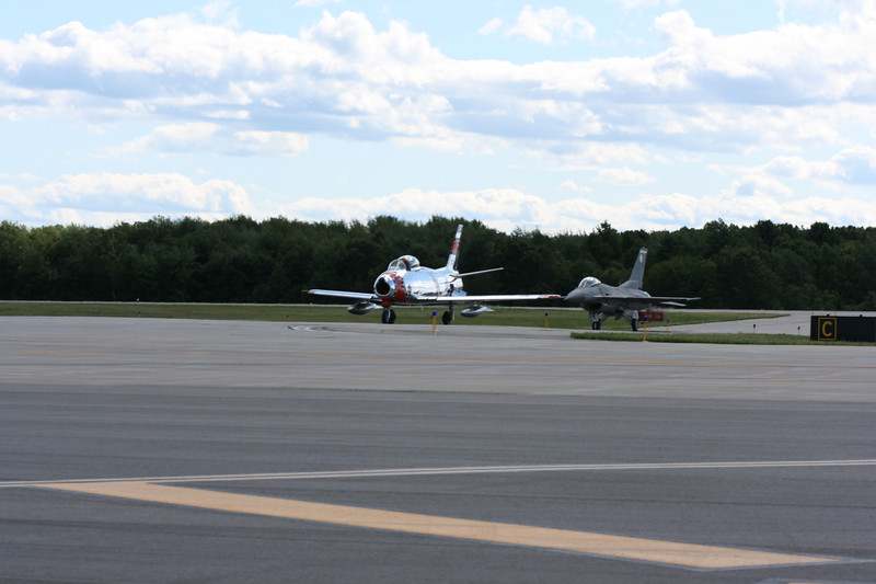 F-86 and F-16.