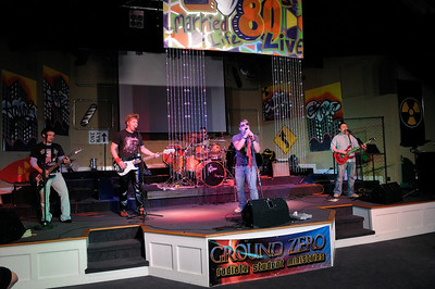 Married Life Live Event, 80s Night Featuring Flux Capacitor