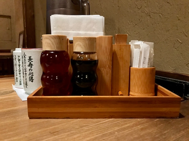 Tableside essentials.
