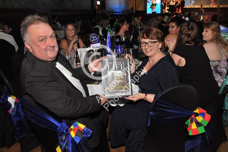 Swansea Life Awards 2017 Brangwyn Hall, Swansea Wedding Venue Runners Up... Oxwich Bay Hotel