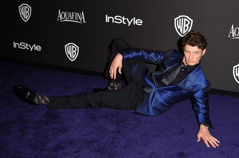 . Actor Brett Dier attends the 2015 InStyle And Warner Bros. 72nd Annual Golden Globe Awards Post-Party at The Beverly Hilton Hotel on January 11, 2015 in Beverly Hills, California.  (Photo by Jason Merritt/Getty Images)