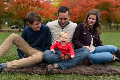 Portzen Family Fall Mini