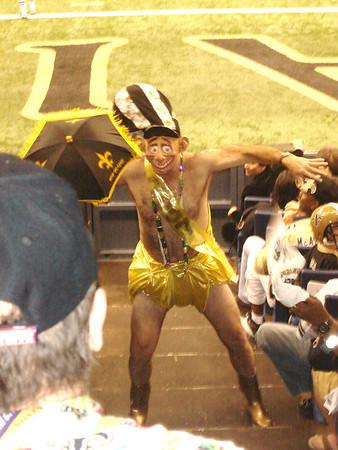 Panthers at Saints December 31 2006