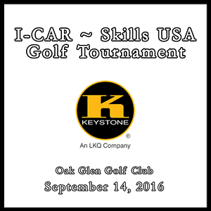 I-Car ~ Skills USA Golf Tournament September 14, 2016