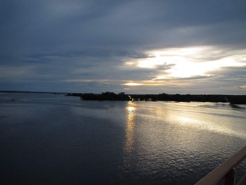 A pretty sunset on the Rio Negro