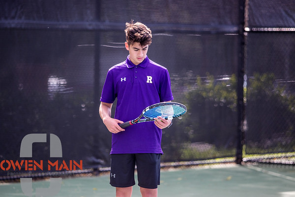 SLOHS vs. Righetti Boys Tennis 04102018