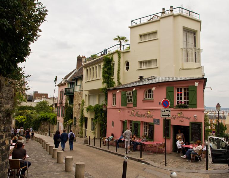 La Maison Rose - Montmartre
