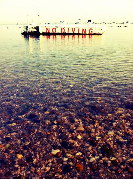 No Diving, Sea Cliff