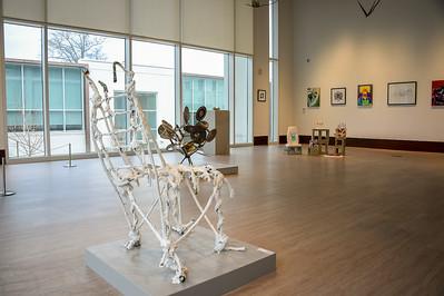 Art Student Art Exhibit Daytime