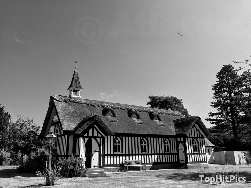 All Saints Anglican Church in Little Stretton, Shropshire