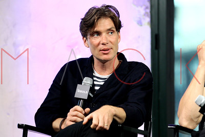 """NEW YORK, NY - AUGUST 05:  Cillian Murphy, writer and director Sean Ellis and Jamie Dornan attend AOL Build to discuss the upcoming film """"Anthropoid"""" at AOL HQ on August 5, 2016 in New York City."""