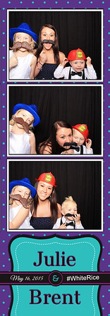 Julie and Brent Rice Wedding