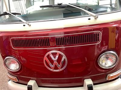 1971 VW deluxe microbus