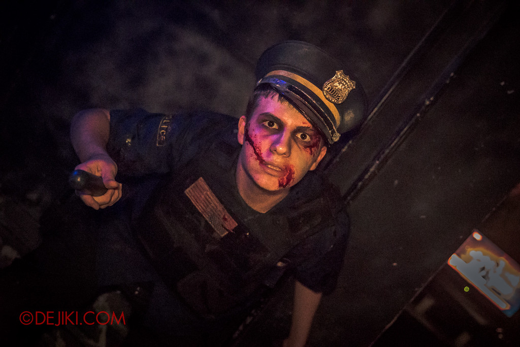 Halloween Horror Nights 6 Final Weekend - Bodies of Work revisited / Policeman B